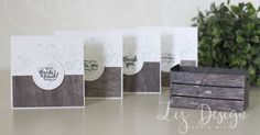Stampin Up Wood Words Wood Textures Card by Stampin with Liz Design