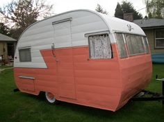 Vintage Shasta trailer