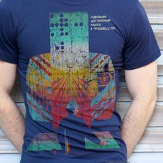 31fe8ac01 Soviet Nuclear Control Room T-shirt Retro Propaganda Tee - Babbletees - 1