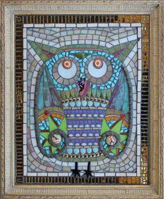 Owl Mosaic ~ Terra Firma Studios