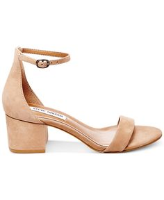 Steve Madden Women's Irenee Two-Piece Block-Heel Sandals - All Women's Shoes - Shoes - Macy's