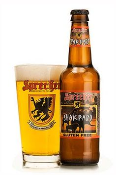 Cerveja Sprecher Shakparo, estilo American Pale Ale, produzida por Sprecher Brewing, Estados Unidos. 5.7% ABV de álcool.