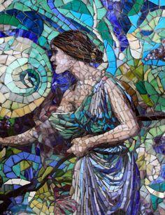 Beautiful Mosaic Art by Carl and Sandra Bryant of Showcase Mosaics, a husband and wife mosaic artist team specializing in handmade glass and ceramic fine art mosaics / http://www.showcasemosaics.com
