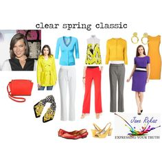 """""""clear spring classic"""" by expressingyourtruth on Polyvore"""