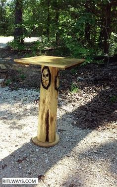 Chainsaw Carvings in Missouri Lake of the Ozarks and Wisconsin - ritlways.com