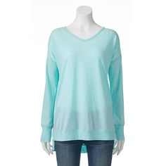 Women's French Laundry Drop Shoulder Top, Size: