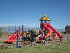 Mackay, Idaho 83251: More Work on the Mackay Elementary School Playground Equipment Installation - October 7 2012