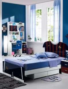 Blue ideas kid bedroom | Looking for magical and amazing blue furniture? Look at our amazing furniture and get all the inspiration you need. CIRCU.NET