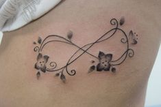 """best friend infinity tattoos for girls 