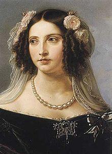 Karl Wilhelm Wach: Königin Elisabeth von Preußen, nach 1840