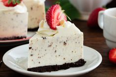 Mascarpone and Oreo® cheesecake (simple, fast) – A CuisineAZ Dynamic Recipe Source by margotmzll Oreo Cheesecake Bites, Cheesecake Crust, Cheesecake Recipes, Oreo Torta, Oreo Cake, Cookies Oreo, Oreo Biscuits, Easy Summer Desserts, No Bake Desserts