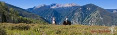Horseback riding summer activities Vail Beaver Creek Mountain | Beaver Creek Stables