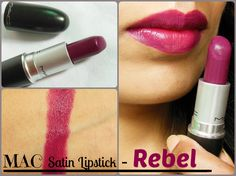 MAC Satin Rebel Lipstick Review, Swatches, LOTD