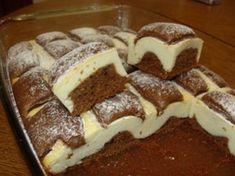Túrós paplan süti, puha csokis tészta és ínycsiklandó túrós töltelék! Ennek senki sem tud ellenállni!