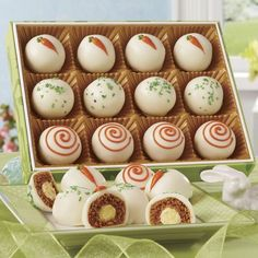 Carrot Cake Balls from The Swiss Colony® A sweet treat for your special someone. www.swisscolony.com