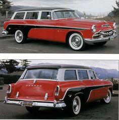 1955 DeSoto Firedome station wagon