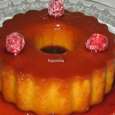 Food Cakes, Portuguese Recipes, Flan, Food Inspiration, Cake Recipes, Cheesecake, Sweets, Food And Drink, Baking