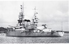 Italian battleship Andrea Doria was the lead ship of her class of battleships built by the Royal Italian Navy (Regia Marina) during the early 1910's. The class included only one sister ship, Caio Duilio. The two ships, Andrea Doria and Caio Duilio were completed during World War I. The class was an incremental improvement over the preceding Conte di Cavour class. Like the earlier ships, Andrea Doria and Caio Duilio were armed with a main battery of thirteen 305-millimeter (12.0 in) guns.