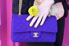 purple + lime