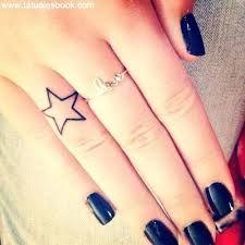 Resultado de imagen para tattoos de estrellas en la mano