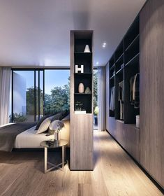 20 Best and Modern Closet Design For Your Beautiful Home Best Modern Closet Design, For you fashion lovers and the latest clothing collection, the closet is a favorite furniture that is certainly needed at home. Bedroom Closet Design, Master Bedroom Closet, Bedroom Wardrobe, Closet Designs, Home Bedroom, Bedroom Decor, Bedroom Ideas, Bedroom Closets, Bedroom Furniture