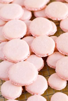 strawberry macarons recipe | use real butter