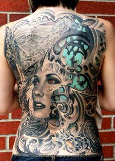 Tattoo Artist - Rember Orellana