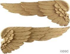 Flügel - Jeder Flügel - 7 1 / 8H x-18W - 3 / 8Relief 5663