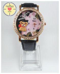 Orologio modello  sweet bear  3d Wristwatche Clay  sweet