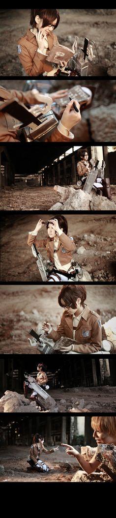 Attack on Titan Hanji Zoe4 by 35ryo.deviantart.com on @deviantART