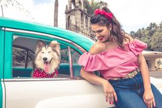 Sesión fotografica Retro con perros. Retro, Off Shoulder Blouse, Dogs, Women, Fashion, Moda, Fashion Styles, Pet Dogs, Doggies