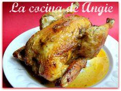 La cocina de Angie: POLLO ASADO CON MANZANA Y CANELA