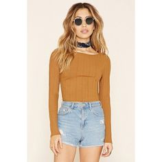 45384fa8fde331 A ribbed knit crop top featuring adjustable Y-back straps