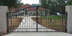 кованые ворота | We love wrought iron gate! for design ideas call 323-275 9404 | Los ...