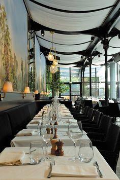 Déjeunez dans le cadre exceptionnel du #restaurant La Gare à Paris, ancienne gare entièrement rénovée !