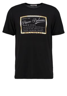 Pierre Balmain TShirt print black Premium bei Zalando.de | Material Oberstoff: 48% Viskose, 48% Polyester, 4% Elasthan | Premium jetzt versandkostenfrei bei Zalando.de bestellen!