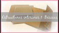 Estructuras interiores para álbumes 1: Básicas (desplegables, cascadas, ...