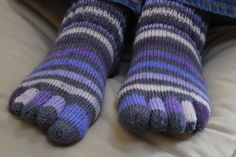 Toe Socks...I wore these as a teenager