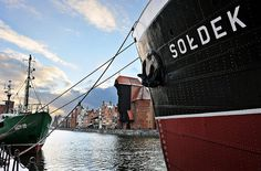 "Visit an anchored #museum of ""Sołdek"""