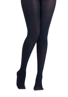 Layer It On Tights in Navy. Enjoying your favorite warm-weather clothes year 'round is a cinch now that you've welcomed these navy blue tights into your wardrobe! --ModClassic
