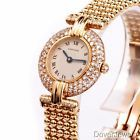 Cartier Colisee Diamond Women's 18K Yellow Gold Watch NR