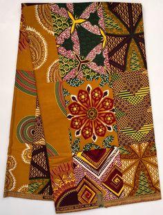 A personal favorite from my Etsy shop https://www.etsy.com/listing/270257521/african-print-fabricdutch-wax-ankara