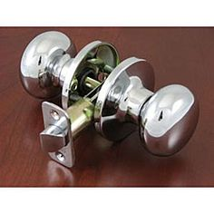 Stone Mill Inch Polished Chrome Door Hinges Set Of Polished - Chrome bathroom door knobs