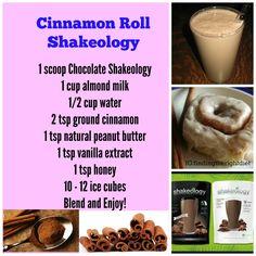 Cinnamon Roll Shakeology