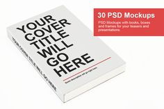 15 Free Book Cover Mockup PSD