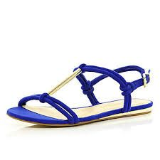 bluue metal t bar sandals - Google Search