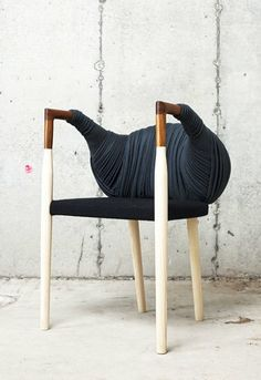 Cocoon chair | The Plated Series by Nielsen & Rovin