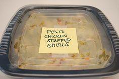 What's Cookin, Chicago?: Pesto Chicken Stuffed Shells