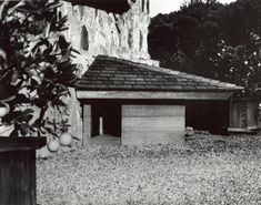 A casa de cachorro de Frank Lloyd Wright. Mestre da arquitetura fez o projeto na década de 50