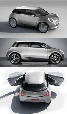 Mini Cooper 2013 - Concept. Not feeling this at all. Don't do it Mini!!